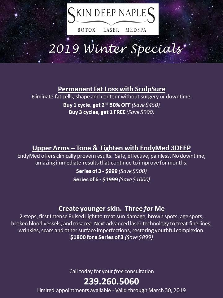 2019 Winter Specials